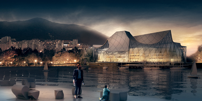 Busan Opera House, Visualized by Nenad Katic, We Are All Collage, Laura Foxman